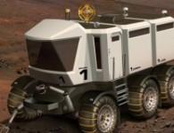 Mars Expedition Rover в представлении художника