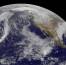 Снимок Земли, полученный спутником «GOES-15» 26 июля 2014 года